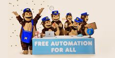 Drum roll, please! We're excited to announce that our powerful marketing automation features are now free for all MailChimp accounts. Mailchimp is my favorite. It is so easy to learn and use for your email marketing. Email Marketing Services, Marketing Goals, Marketing Automation, Small Business Marketing, Affiliate Marketing, Online Business, Digital Marketing, Internet Marketing, Media Marketing