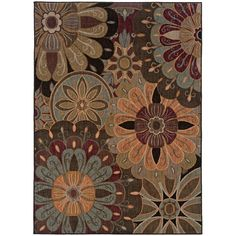 I pinned this Sara Rug in Multi from the Oak Orchard Studios event at Joss and Main!