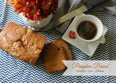 Pumpkin bread- a fall favorite!!
