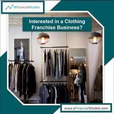 eFinancialModels offers a wide range of industry specific excel financial models, projections and forecasting model templates from expert financial modeling freelancers. Franchise Business, Financial Planning, Wardrobe Rack, Investing, Template, Retail, Model, Clothes, Kleding