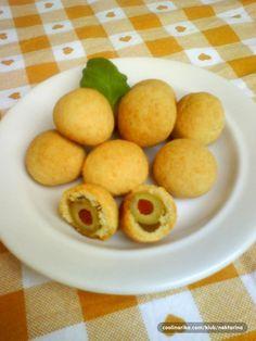 Kuglice od sira s maslinama