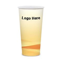 """21 Oz Customized Tall Heavy Duty Paper Hot Cups: Available Color: White. Product Size: Top 3.52"""" x 6.00"""" H x Bottom 2.40"""". Imprint Area: 7.65"""" W x 5.86"""" H. Imprint Method: 4-Color Process. Box Weight: 21 lbs. Packaging: 500 pcs. Material: Heavy Duty Paperboard with Poly Coated One Side. #TallHeavyDutyPaperCups #customdrinkware  #promotionalproduct #customproduct  #customdisposablecups"""