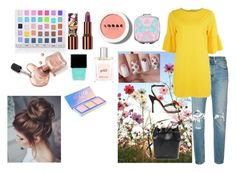 """Geen titel #357"" by mveltmuisenco on Polyvore featuring mode, Shany, Teeez, LORAC, Butter London, philosophy, Levi's, Charlotte Olympia en Mansur Gavriel"