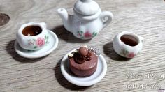 Chocolate Dessert Charm Food Charms Food by AndisaCharmsShop