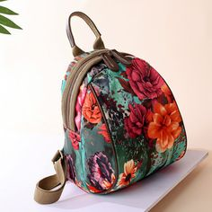 Women Nylon Flower Pattern Multifunctional National Style Handbag Shoulder Bags Backpacks is designer, see other cute bags on NewChic Mobile.