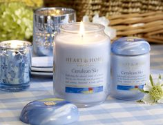 If you are dreaming of blue skies and lovely spring days we have the perfect scent to take you there - now available online at heartandhome.com.