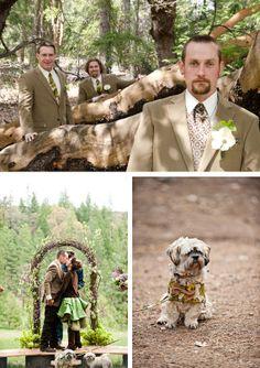 Tucked Away in the Woods | Etsy Weddings Blog