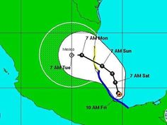 Tropical Storm Ingrid takes aim at Mexico, Texas via @USA TODAY