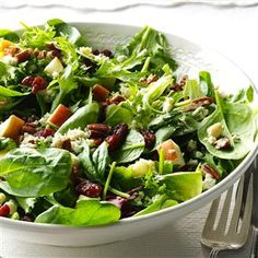 Michigan Cherry Salad Recipe- Recipes  This recipe reminds me what I love about my home state: apple picking with my children, buying greens at the farmer's market and tasting cherries on vacations. —Jennifer Gilbert, Brighton, MI