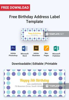 Free Download Label Templates Microsoft Word Free Photo Address Label  Pinterest  Label Templates And Template
