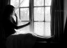 woman waiting by the window - Google Search