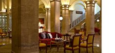 Imperial Riding School Renaissance Hotel Vienna, €93/night for CLUB LEVEL (thanks Dad!)