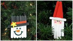 10 Manualidades navideñas creativas con palitos de madera Christmas Crafts, Xmas, Christmas Ornaments, Christmas Paintings, Diy Gifts, Origami, Holiday Decor, Ideas Para, Home Decor