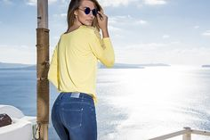 CHIARA DALBA SS2016 COLLECTION #fashion #glamour #moda #donna #jeans #denim #skinny #jacket #pantaloni #fresh #shirt #estate #2016 #madeinitaly #luxury #pantaloni #maglia #blusa #taglie #comode #female #shopping #camicia #colors #colori #outfit #yellow #giallo