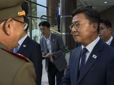 Raw: Two Koreas Meet to Defuse Tension - YouTube