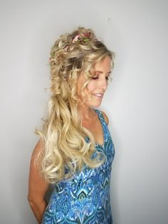 A fair Maiden for a Halloween Gathering! Hair and makeup by Kariann