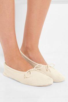 Cream cashmere Slip on