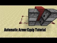 Auto-Armor Equip Tutorial | Minecraft 1.7.5 - YouTube