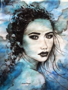 """Repost mixed media drawing """"Infusion"""" by artsan-design! Watercolor Drawing, Art Lessons, My Drawings, Designer, Disney Characters, Fictional Characters, Poster, Charcoal, Mixed Media"""