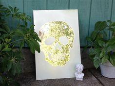 Tutorial: Frosted Skull Mirror