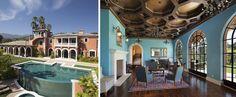 Romantic Mediterranean-Style Villa | Cool Houses Daily