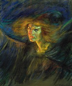 (Image: Lucifer (Natalie Clifford Barney), 1902. By Alice Pike Barney).