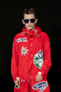 4a65cb65cdf Bedroom bound teens in reworked sportswear at Christopher Shannon SS15