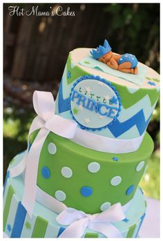 Little Prince Baby Shower Cake - don't know what it will be but this is cute
