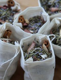 KEEP AWAY MOTHS: Fill a cloth drawstring pouch with cinnamon, lavender and rosemary and put it in a drawer to keep moths from making a snack out of your sweaters.