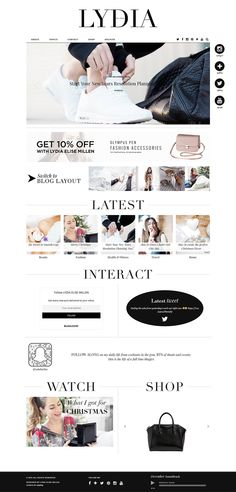 Custom Blogger Template Design