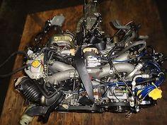 00- 04 SUBARU WRX  EJ20 2.0L DOHC TURBO ENGINE WITH AVCS SONSER, 5SPEED TRANNY
