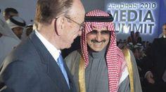 Rupert Murdoch e Al Waleed bin Talal