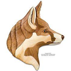 Red Fox Intarsia Pattern