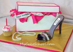 Shoe box and shoe