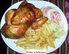 RECETAS DE COMIDA PERUANA - Pollo a la brasa