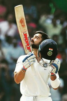 Virat Kohli is the first cricketer to score three centuries in his first three innings as test captain. Test Cricket, Cricket Bat, Cricket Sport, Virat Kohli Instagram, Match List, Virat Kohli And Anushka, Virat Kohli Wallpapers, Ipl Live, Cricket Wallpapers