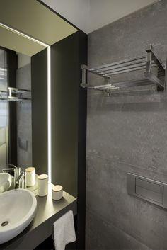 Toallero Eléctrico bajo consumo. Ideal para espacios compactos. Realizado 100% en Acero Inoxidable.