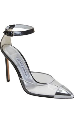 lovely sandals, really nice, BUT: why did he name it after a car brand? > Manolo Blahnik Audi