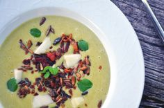 Kartoffel broccoli suppe