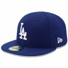 4051e310e2070 Men s New Era Royal Los Angeles Dodgers Authentic Collection On Field  59FIFTY Performance Fitted Hat