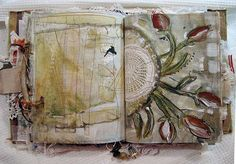 fused and painted pages by dj pettitt