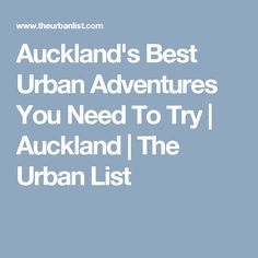 You don't have to travel far for an adventure! Here are the best urban adventures in the heart of Auckland. Breath Away, Secluded Beach, Auckland, New Zealand, Breathe, The Good Place, Good Things, How To Get, Urban