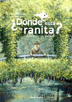 ¿DÓNDE ESTA LA RANITA? ¿Quién dijo que Monet nunca había pintado animales en Giverny? Su retrato de la pequeña ranita era una verdadera obra de arte. Lo que sucedió es que el cuadro del maestro desapareció una tarde de verano en el jardín...  Recorre el famoso jardín de Giverny saltando de tela en tela bajo la atenta mirada de Claude Monet.