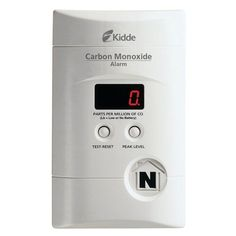 Carbon Monoxide Detector Co2 Alarm Plug Backup Battery Safety Home Family New   | eBay