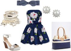 """""""Sunday at the beach outfit"""" by sonia-roxy-m on Polyvore"""