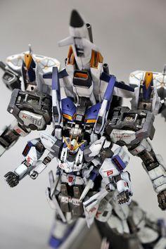 pteamvn's Custom 1/144 Build Strike Gundam R Ver.Mk-VI: Big Size Images, Info http://www.gunjap.net/site/?p=290790