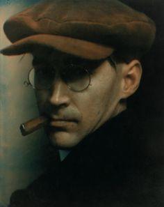 Edward Stecihen. Untitled (Man with Cap and Cigar), c.1915