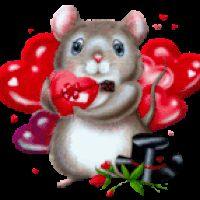 Animated Animals, Hearts, Animated Gif, Animated Graphics, Keefers photo thNEWILOVEYOU4.gif