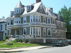 Another beautiful house on County Street in New Bedford, MA.