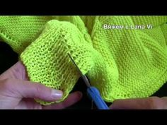 Как разрезать, обрезать, укоротить изделие при вязании спицами. Вязание спицами. Обсуждение на LiveInternet - Российский Сервис Онлайн-Дневников